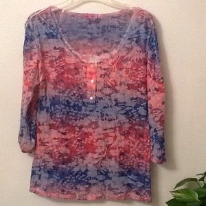 Top for casual wear, size L